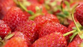 Les fraises rouges tournent clips vidéos