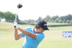 Les Français de golf de Mike Lorenzo-Vera (ATF) ouvrent 2009 Photos stock