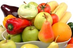 Les fruits et légumes frais Photos stock