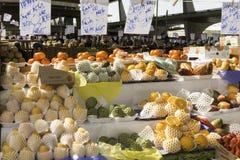 Les fruits frais et les légumes frais dirigent des fermes photo libre de droits