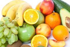 Les fruits se ferment vers le haut image libre de droits