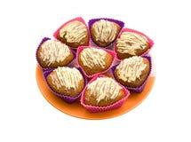 Les gâteaux de fruit Photos stock