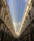 Les Galeries Royales ST Hubert Mall στις Βρυξέλλες στοκ φωτογραφία με δικαίωμα ελεύθερης χρήσης
