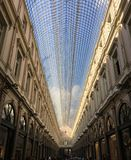 Les Galeries Royales St Hubert Mall in Brussels royalty free stock photography