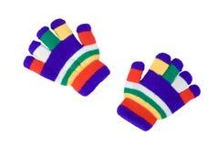 Les gants des enfants image stock