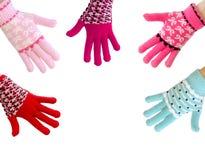 les gants réchauffent Image stock