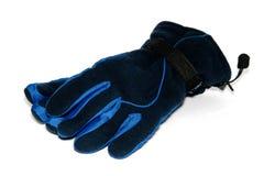 Les gants sont sur le fond blanc Photo libre de droits
