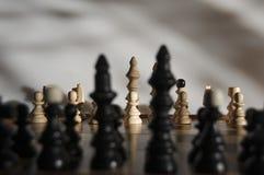 Les garder-échecs du roi photo libre de droits