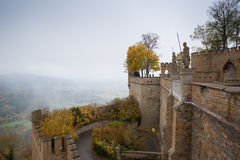 Les gardes au château de Hohenzollern, Allemagne photographie stock libre de droits