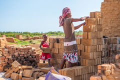 Les gens à ANTANANARIVO, MADAGASCAR Photo libre de droits