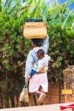 Les gens à ANTANANARIVO, MADAGASCAR Photo stock