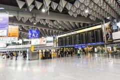 Les gens à l'aéroport Photo libre de droits