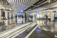 Les gens à l'aéroport Photographie stock
