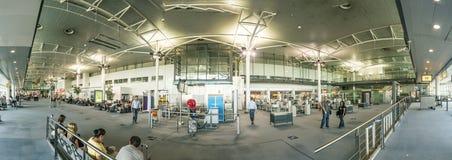 Les gens à l'aéroport de Marseille Photo libre de droits