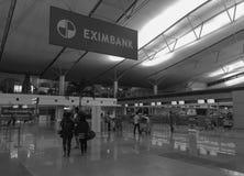 Les gens à l'aéroport de Tan Son Nhat dans Saigon, Vietnam Images libres de droits