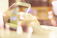 les gens à l'aide du téléphone intelligent Images libres de droits