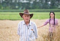 Les gens à la récolte Photographie stock libre de droits