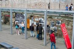 Les gens à la topographie de l'Allemand de terreur : DES Terr de Topographie photos libres de droits