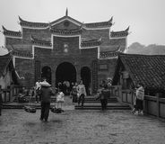 Les gens à la ville antique de Fenghuang dans Hunan, Chine Photos libres de droits