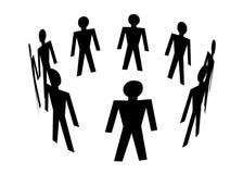 Les gens Image libre de droits
