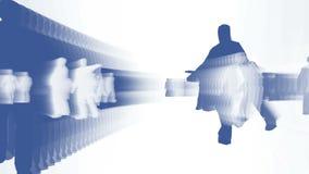 Les gens (appareil-photo de style de vecteur Mouche-à travers HD) illustration stock