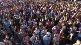 Les gens au concert banque de vidéos