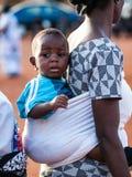 Les gens au GHANA Photo stock