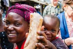 Les gens au GHANA Photos libres de droits