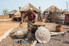 Les gens au GHANA Images stock