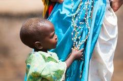 Les gens au Kenya Photo libre de droits