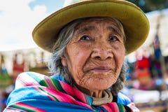 Les gens au Pérou Images libres de droits