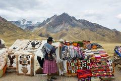 Les gens au Pérou Photographie stock libre de droits