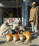 Les gens au Pakistan Photo libre de droits