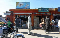 Les gens au Pakistan - une vie quotidienne Image libre de droits