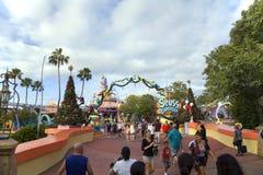 Les gens aux îles universelles du ` s de l'atterrissage de Seuss d'aventure en Orla Images stock