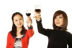 Les gens ayant une boisson Image libre de droits