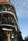 Les gens célébrés fou dans le défilé de mardi gras. Photographie stock