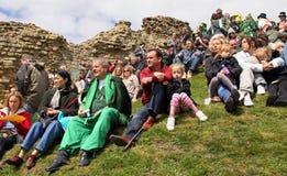 Les gens chez le Jack dans le festival vert Photos stock