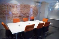 Les gens d'affaires groupent sur la réunion Photographie stock