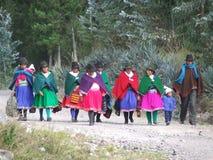 Les gens d'Equateur Images stock