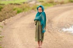 Les gens dans AKSUM, ETHIOPIE Images libres de droits