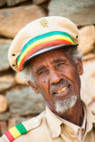 Les gens dans AKSUM, ETHIOPIE Image libre de droits