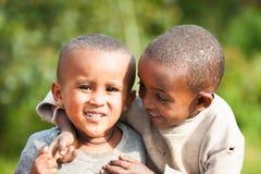 Les gens dans AKSUM, ETHIOPIE Photo libre de droits