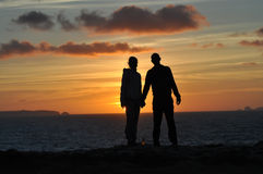 Les gens dans l'amour Photos libres de droits