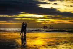 Les gens dans l'amour Photographie stock