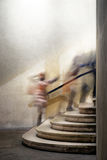 Les gens dans l'escalier Images libres de droits