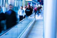 Les gens dans l'escalier Photographie stock libre de droits