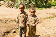 Les gens dans LALIBELA, ETHIOPIE Photographie stock libre de droits