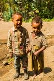 Les gens dans LALIBELA, ETHIOPIE Photographie stock