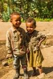 Les gens dans LALIBELA, ETHIOPIE Image libre de droits